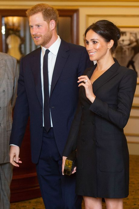 Meghan Markle, reportedly styled by Jessica Mulroney.