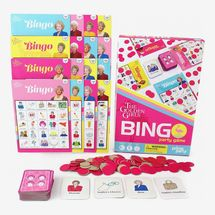 Golden Girls Bingo Game | Bingo Set for up to 16 Players
