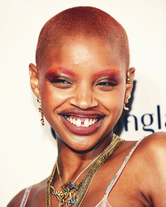 ac1f9c080 Slick Woods Goes Into Labor Following Savage x Fenty Show