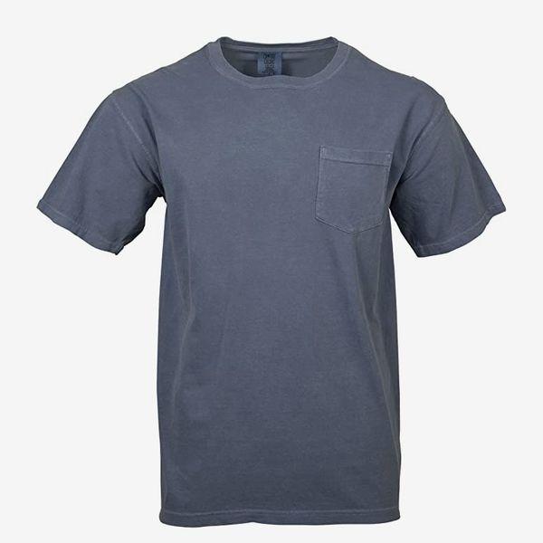 Comfort Colors Men's Adult Short Sleeve Pocket Tee