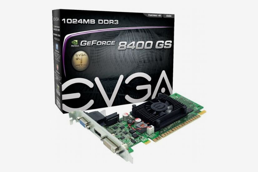 EVGA 1GB GeForce 8400 Video Card