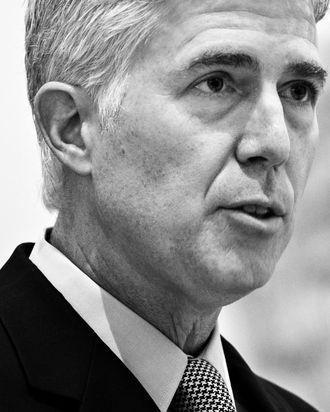 Supreme Court Justice Neil Gorsuch.