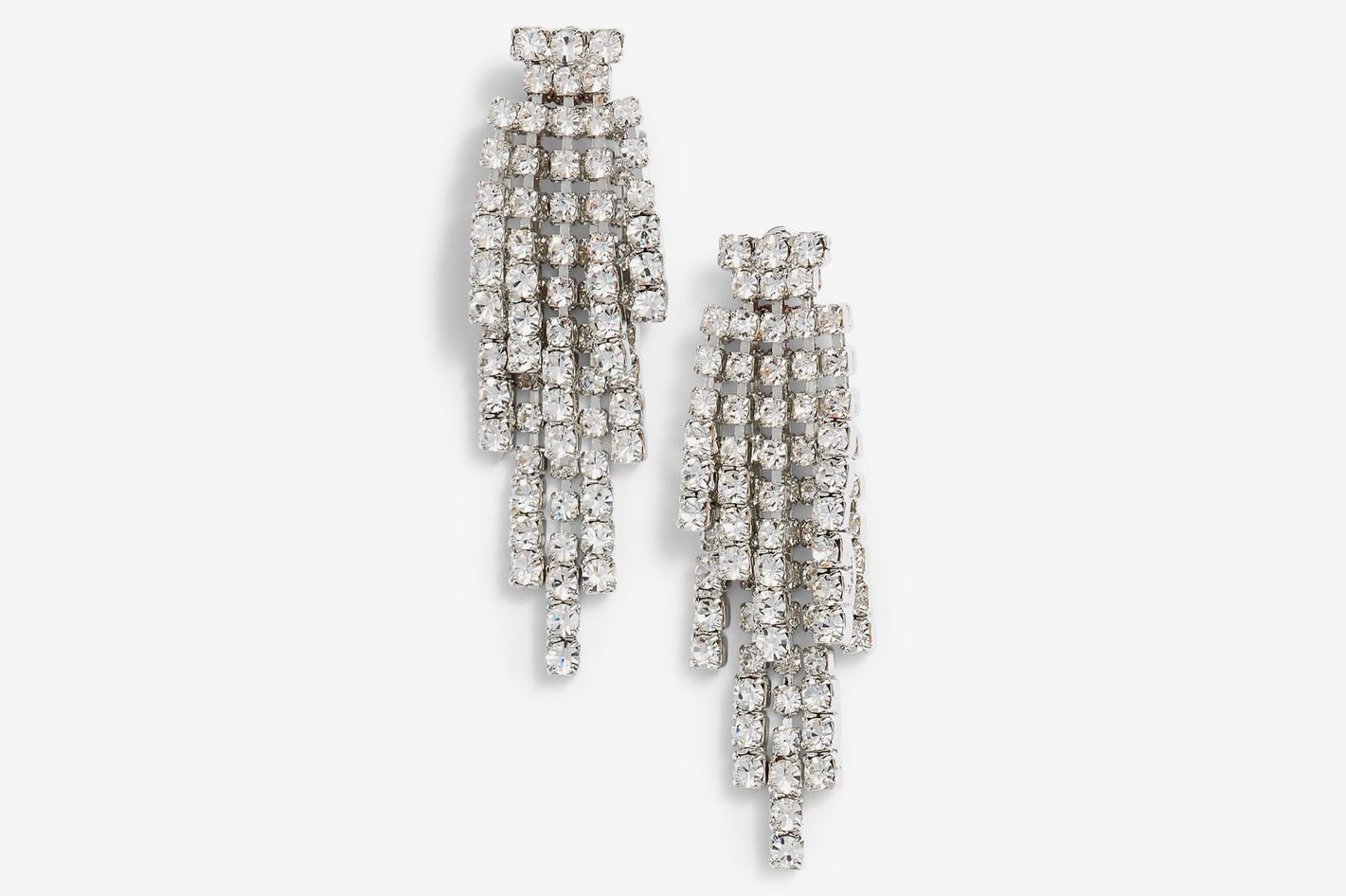 Cristabelle Graduated Fringe Drop Earrings