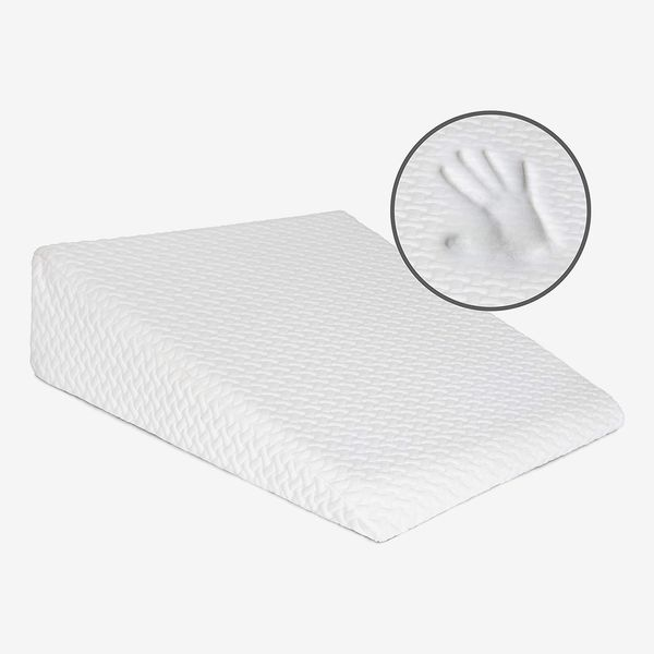 Milliard Bed Wedge Pillow with Memory Foam Top