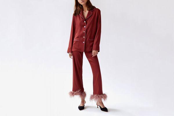 Sleeper Terracotta Pajama Set