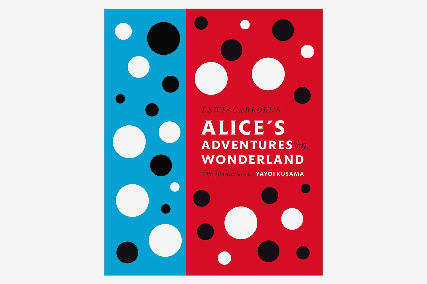 Lewis Carroll's Alice's Adventures in Wonderland, artwork by Yayoi Kusama
