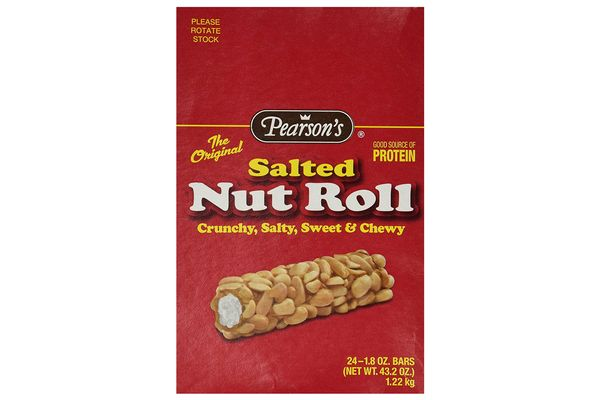 Pearson's Salted Nut Roll, 1.8-Ounce Bars, 24 Pack