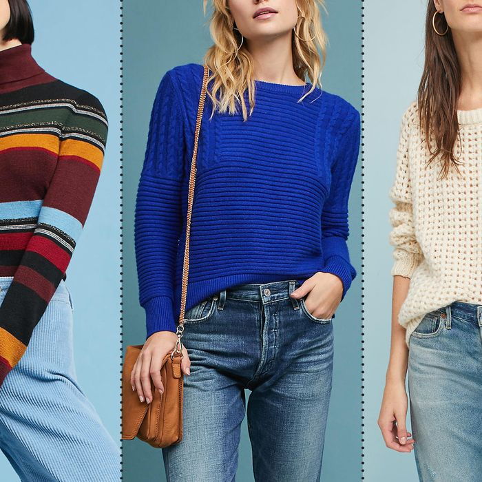 The Best Sweaters on Sale at Anthropologie This Fall 2017 dff1e3564