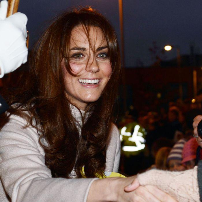 Kate Middleton et bangs.