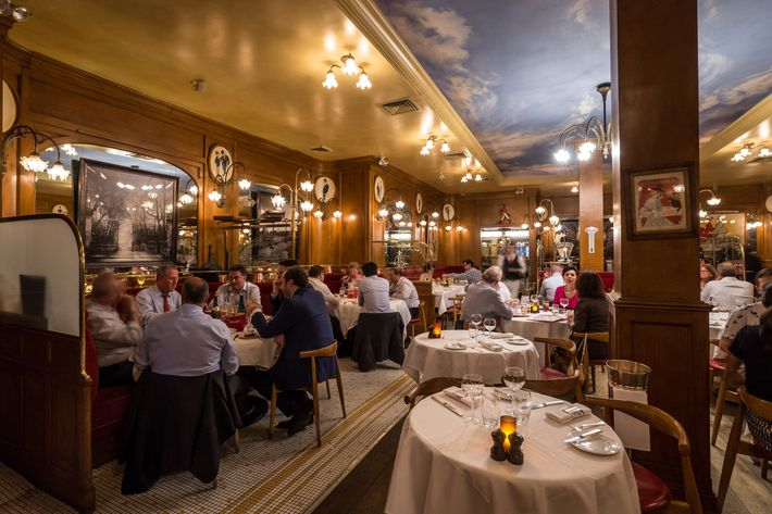 The absolute best french bistro in nyc for Best dining rooms nyc