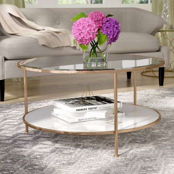 Willa Arlo Interiors Jamiya 3 Legs Coffee Table with Storage