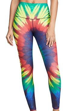 splits59 bardot 7/8 tights, tie dye - strategist best tie dye leggins