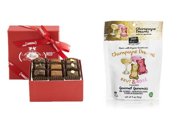 The (RED) 9-Piece Chocolate Collection From Vosges Haut-Chocolat