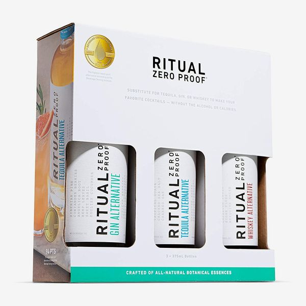 Ritual Zero Proof Variety Pack of 3 (Gin, Tequila & Whiskey Alternatives)
