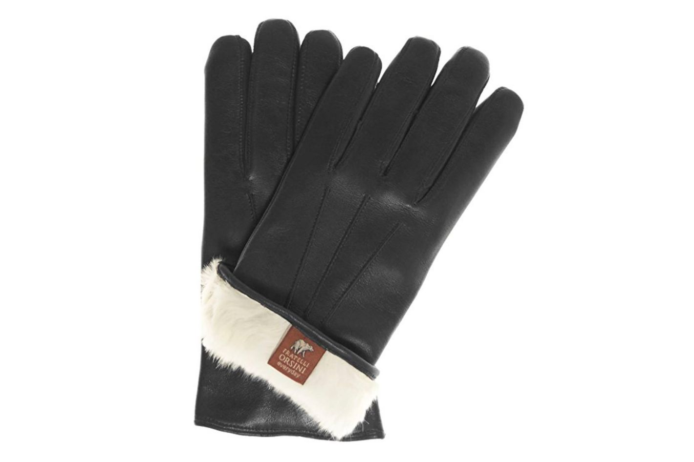Fratelli Orsini Everyday Men's Our Bestselling Italian Rabbit Fur Gloves