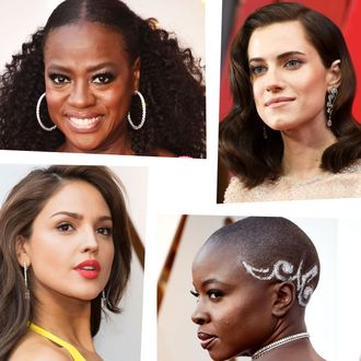 2018 Oscars hair and makeup