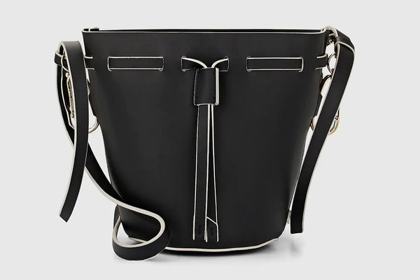 ZAC Zac Posen Belay Mini Leather Bucket Bag