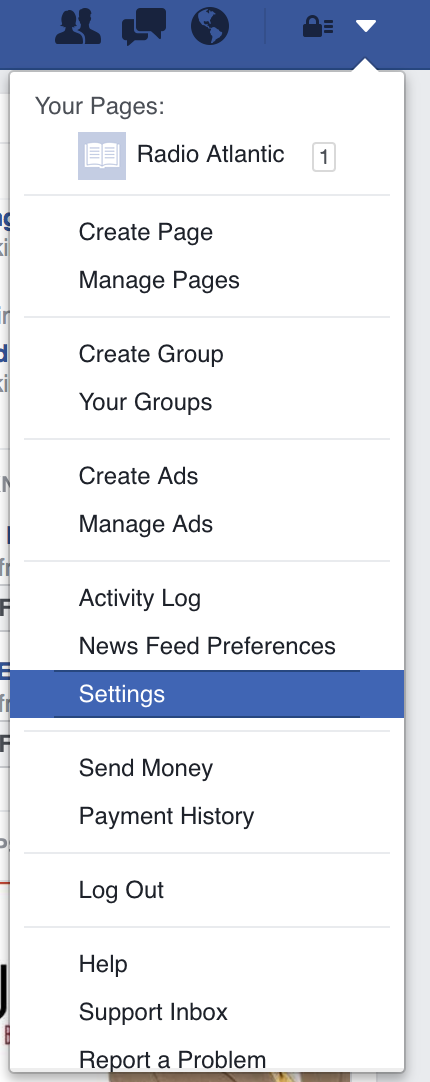 How to delete facebook permanently one youre there click the security in the left hand menu scroll to the bottom of the menu and hit deactivate your account ccuart Image collections