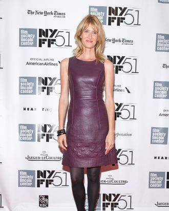 NEW YORK, NY - OCTOBER 08: Actress Laura Dern attends the