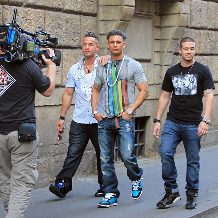 'Jersey Shore' stars Mike