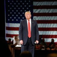Donald Trump Holds Campaign Town Hall In Tampa