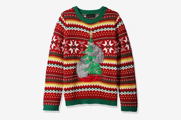 ReliBeauty Little Girls Christmas Tree Pullover Sweater