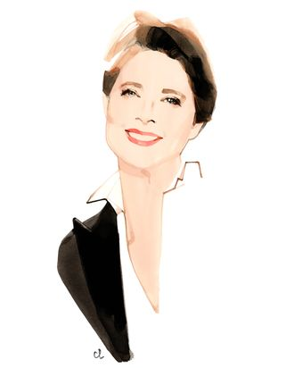 Isabella Rossellini for Lancôme.