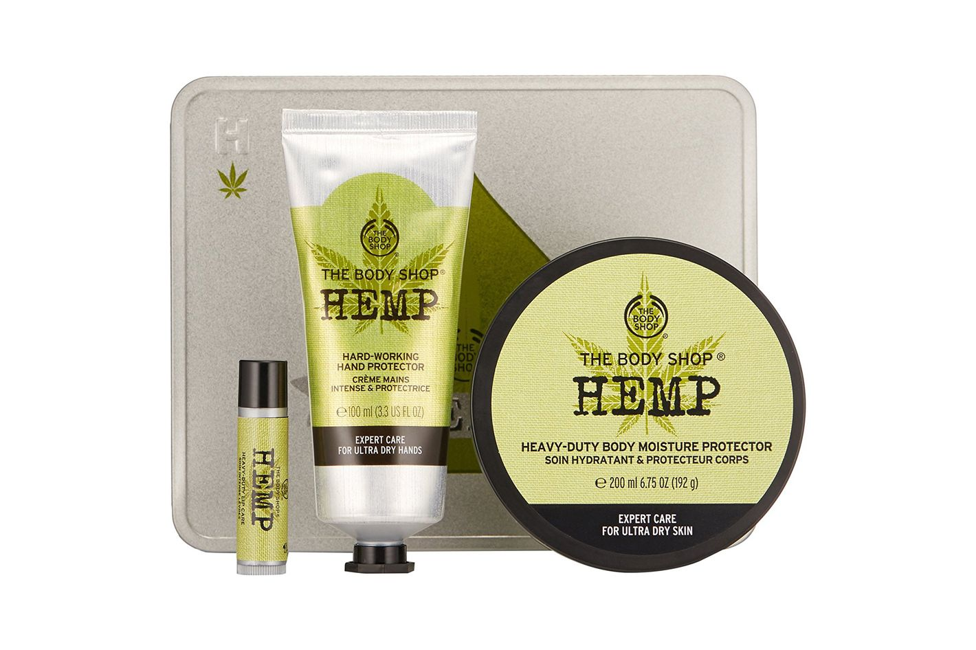 The Body Shop Hemp High Moisture Expert Set