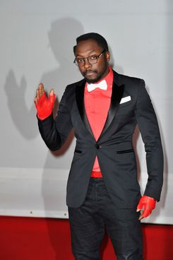 will.i.am attends The BRIT Awards 2012 at the O2 Arena on February 21, 2012 in London, England.
