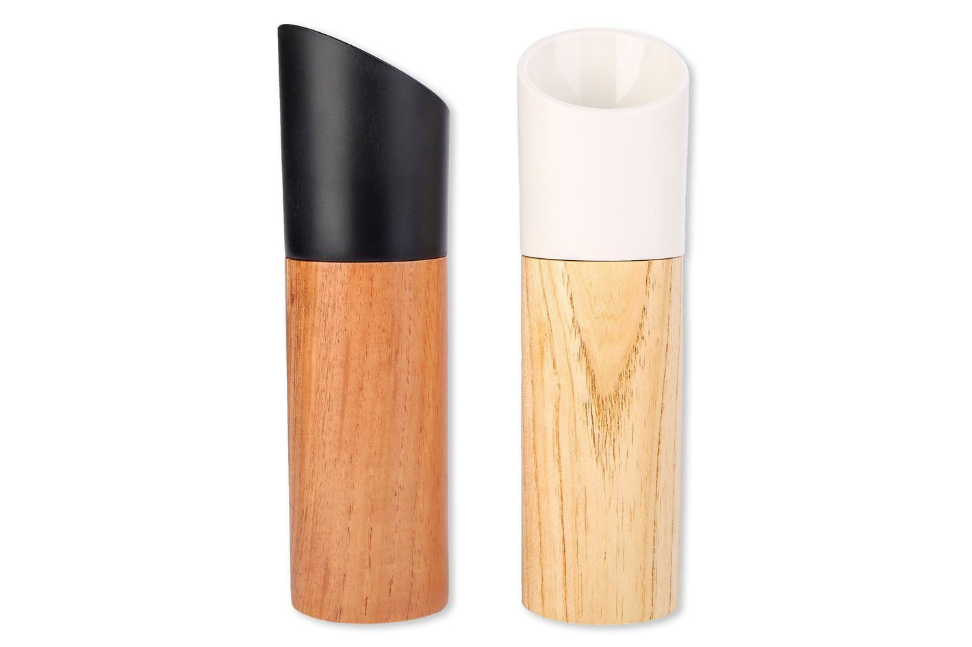 Grace Wood Salt and Pepper Grinder, Set of 2