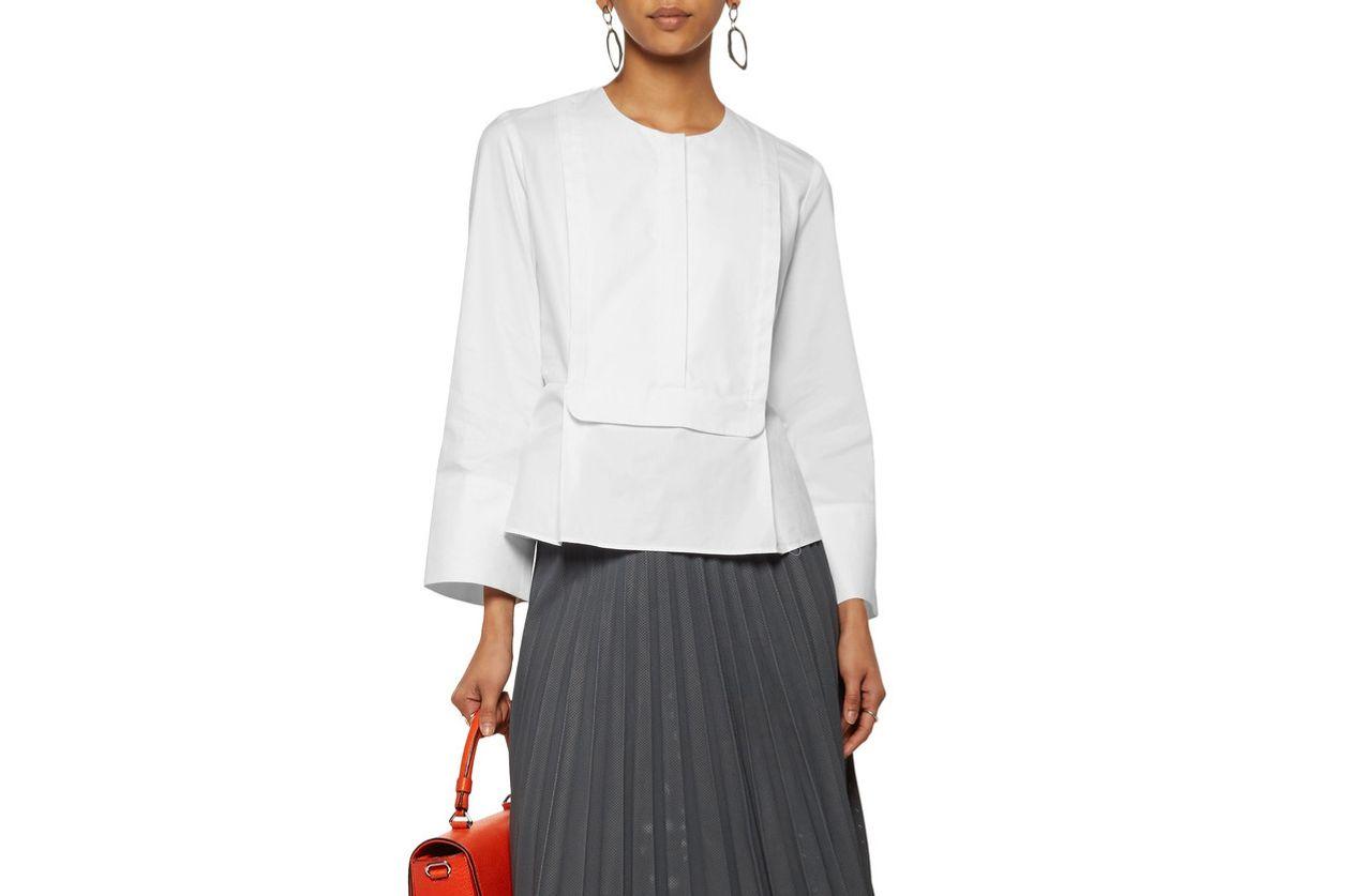 Carven poplin blouse