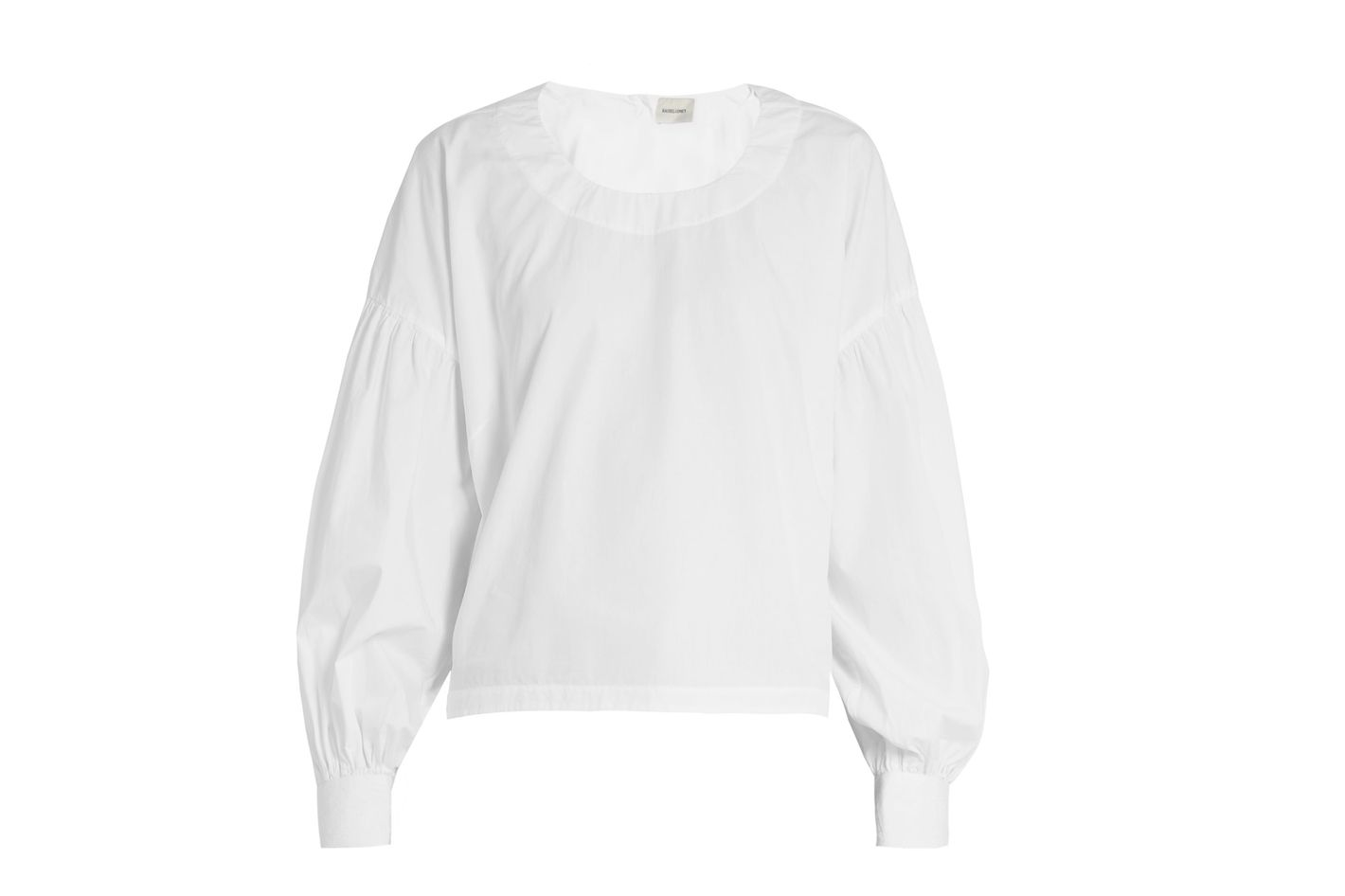 Rachel Comey Woolf Blouson-Sleeved Cotton Top