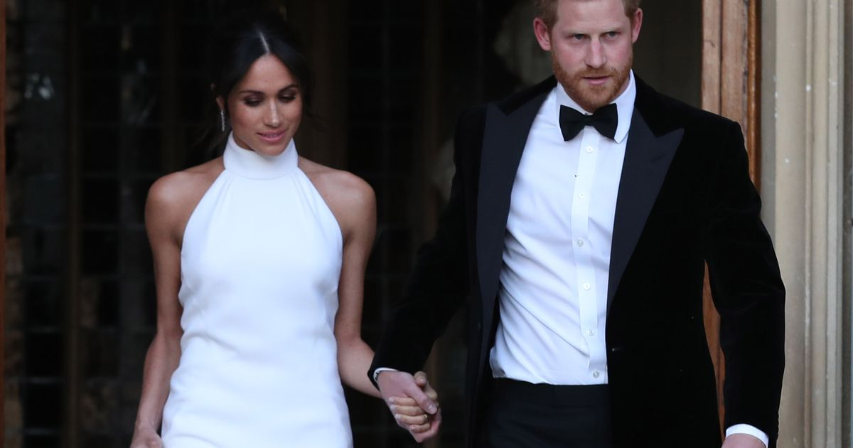 you can finally buy meghan markle s wedding reception dress buy meghan markle s wedding reception dress