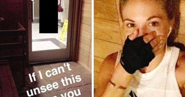 model gets fired and banned from gym after posting naked