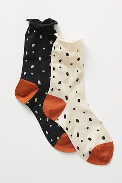 Hansel From Basel Mismatched Crew Socks