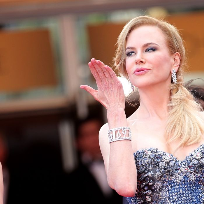 CANNES, FRANCE - MAY 14: Actress Nicole Kidman attends the Opening Ceremony and the