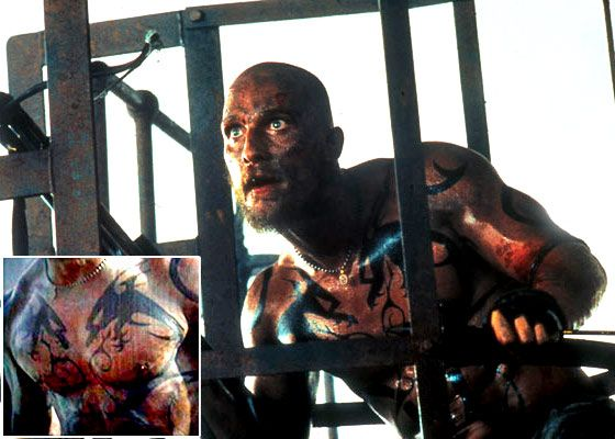 Legion Movie Angel Tattoos