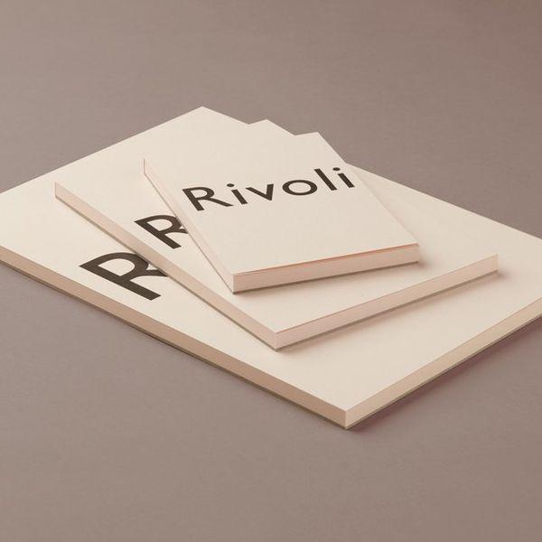 Choosing Keeping Pink Rivoli Writing Paper Pad