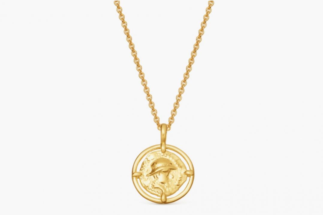 Lucy Williams Mini Rope Coin Necklace