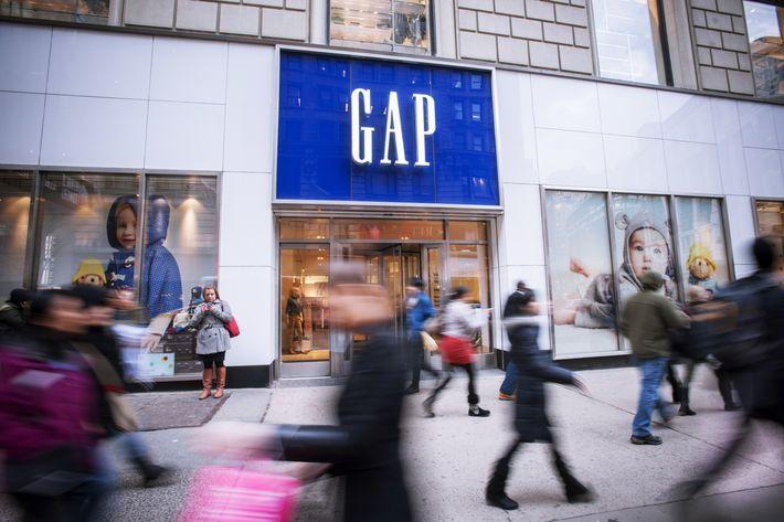 A Gap location.