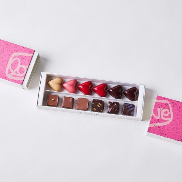 andSons Chocolatiers Valentine's Day Gift Box, 12-Piece