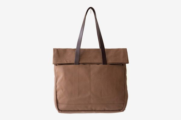 Makr Canvas and Leather Fold Weekender Revised
