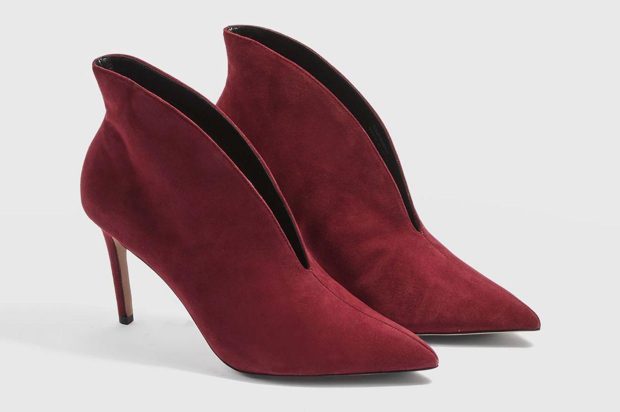 Hale Deep Cut Suede Boots