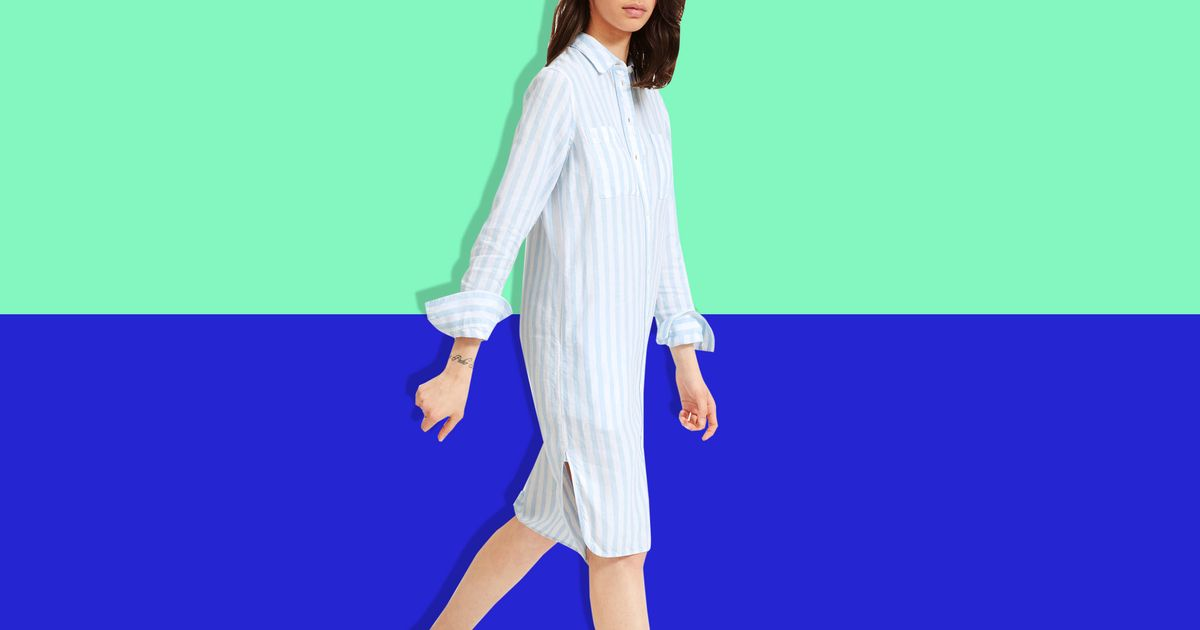 It's Linen Dress Season (Finally!), and This Everlane Number Is 40 Percent Off
