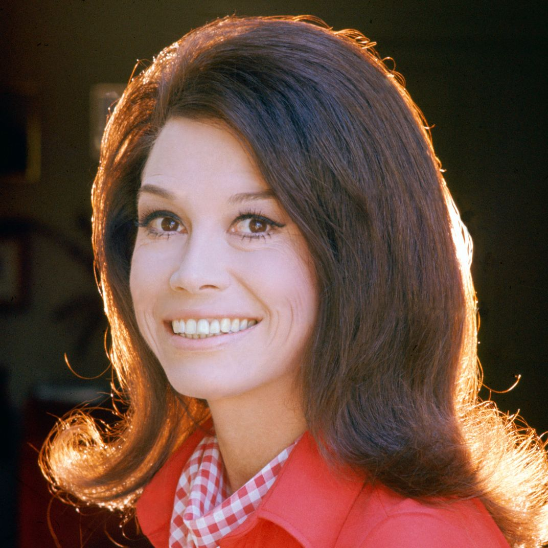 Mary Tyler Moore, a television icon for women in an era of