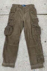 Polo Ralph Lauren Vintage Military Brown Cargo Pants