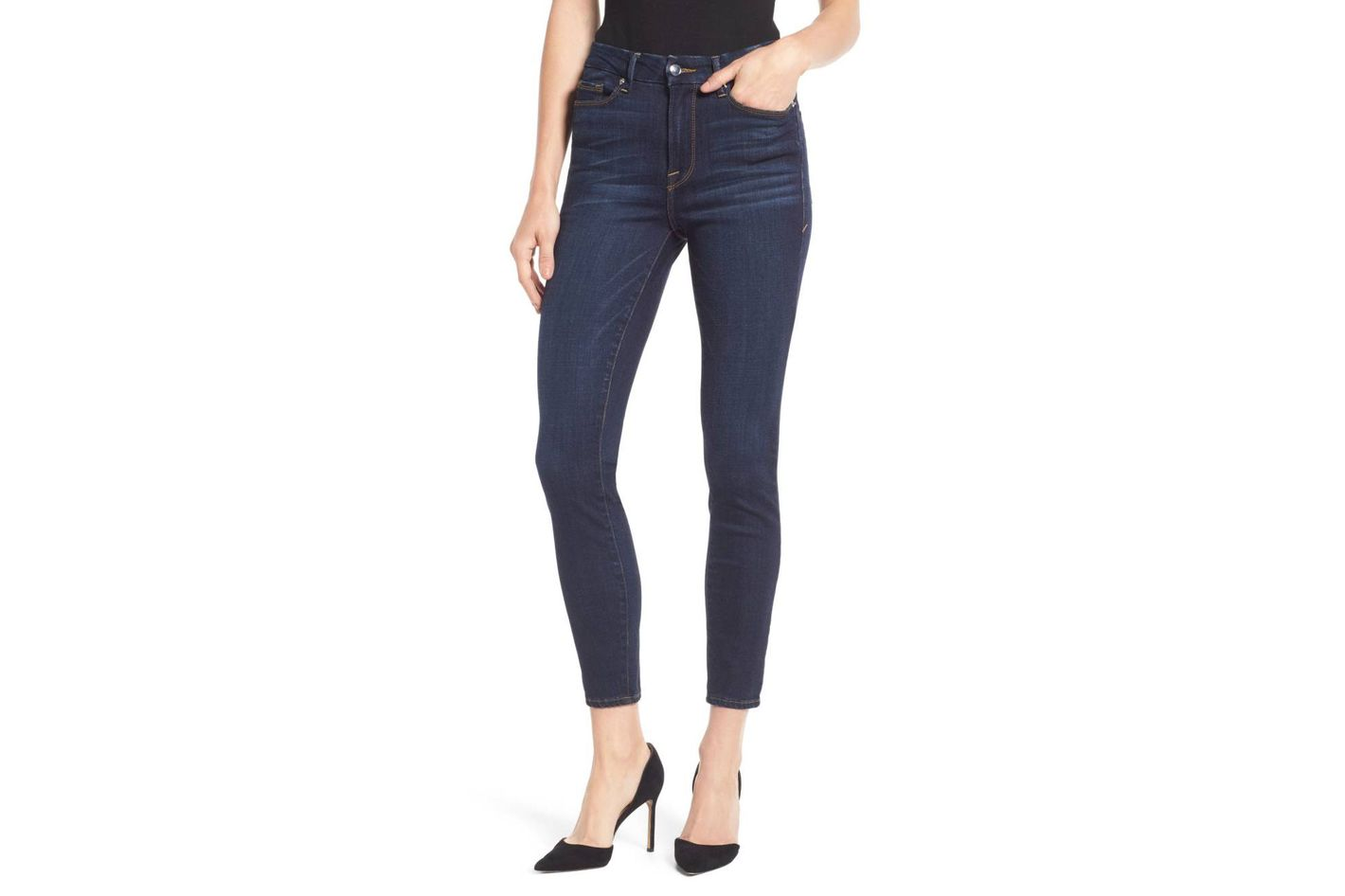 dc17b9c38600 Good American Good Legs High Waist Ankle Skinny Jeans at Nordstrom