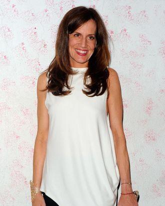 Daniella Vitale of Barneys arrives at Barneys New York Celebrates Carine Roitfeld at The Westway on September 10, 2011 in New York City.
