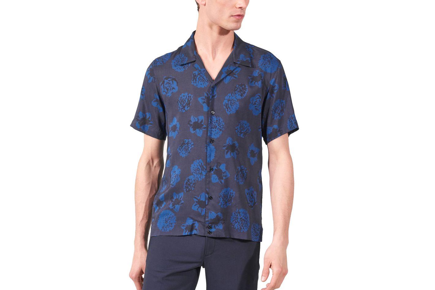 Sandro Floral Printed Shirt