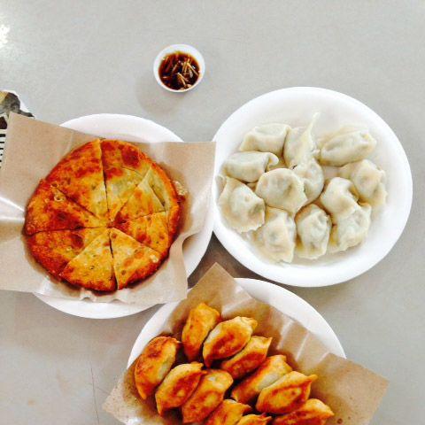 Dumplings from Lavender Square Food Centre.